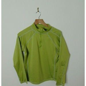 Marmot M ¼ Zip Pullover Shirt Long Sleeve Green